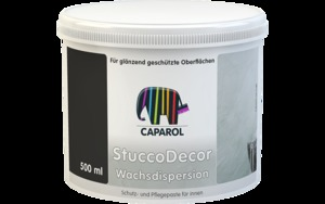 Capadecor StuccoDecor Wachsdispersion - воск защитный 0,  л